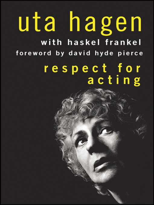 Title details for Respect for Acting by Uta Hagen - Available