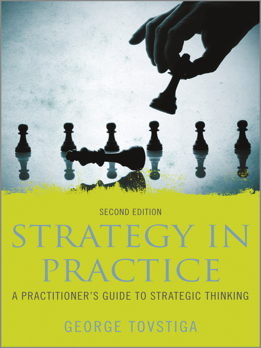 Cover of Strategy in Practice
