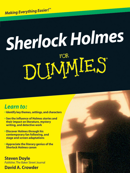 Title details for Sherlock Holmes For Dummies by Steven Doyle - Available