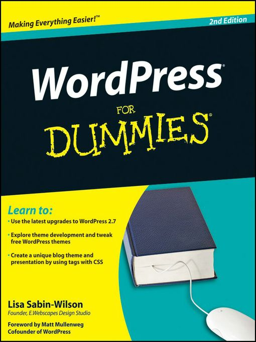Title details for WordPress For Dummies® by Lisa Sabin-Wilson - Available