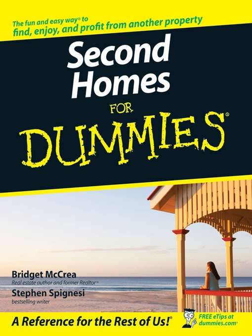 Cover of Second Homes for Dummies