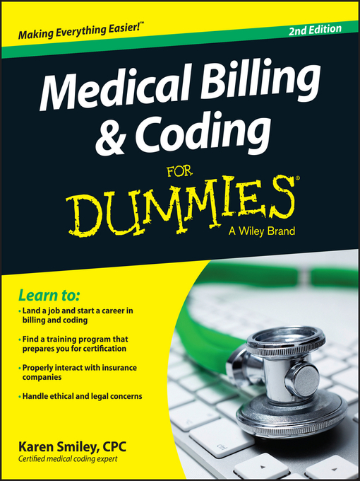 Title details for Medical Billing and Coding For Dummies by Karen Smiley - Available
