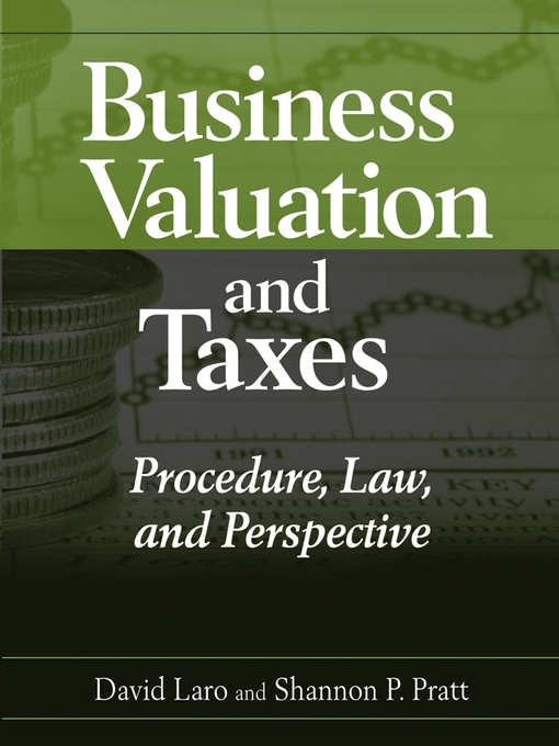 Title details for Business Valuation and Taxes by David Laro - Available