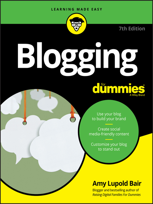 Title details for Blogging For Dummies by Amy Lupold Bair - Wait list