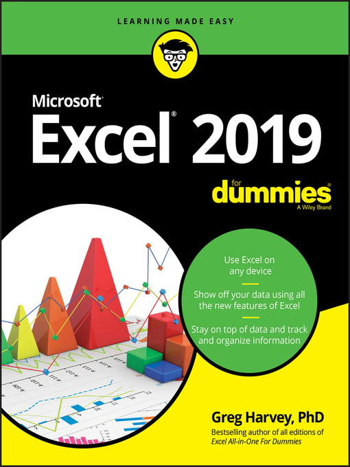 Title details for Excel 2019 For Dummies by Greg Harvey - Available