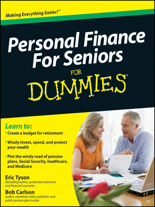 Title Details For Personal Finance Seniors Dummies By Eric Tyson