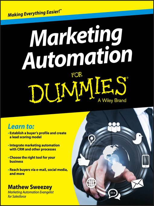Title details for Marketing Automation For Dummies by Mathew Sweezey - Available