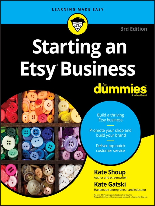 Title details for Starting an Etsy Business For Dummies by Kate Shoup - Available