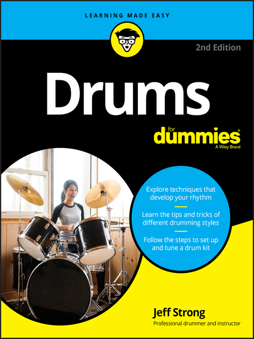 Cover of Drums For Dummies