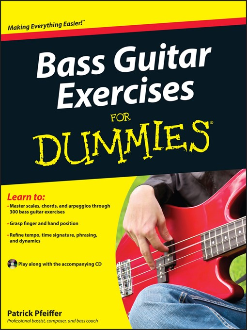 Title details for Bass Guitar Exercises For Dummies by Patrick Pfeiffer - Available
