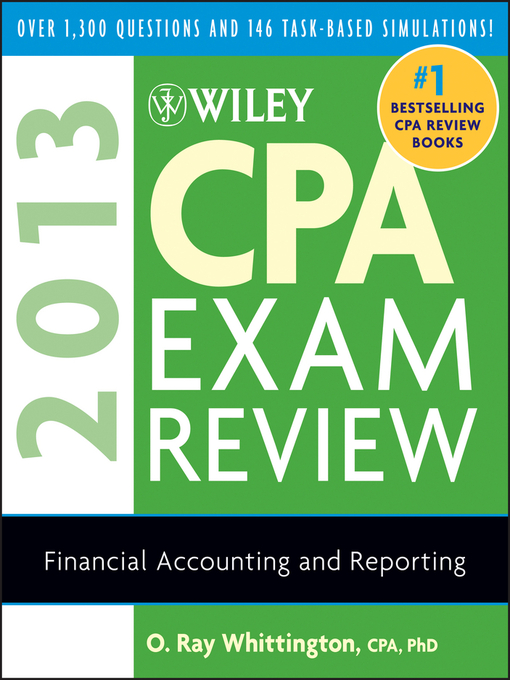 Wiley cpa exam review 2013 financial accounting and reporting title details for wiley cpa exam review 2013 financial accounting and reporting by o fandeluxe Choice Image