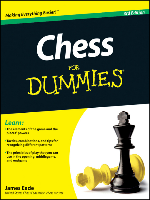 Title details for Chess For Dummies by James Eade - Available