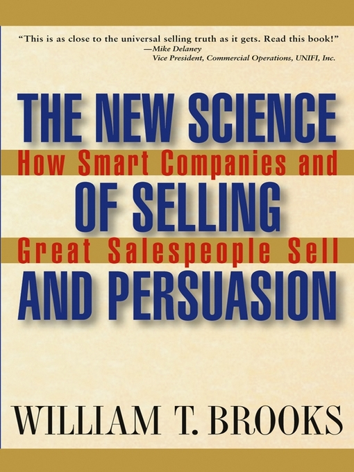 Cover of The New Science of Selling and Persuasion
