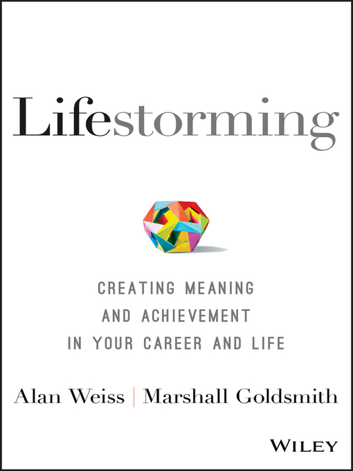 Lifestorming Creating Meaning and Achievement in Your Career and Life