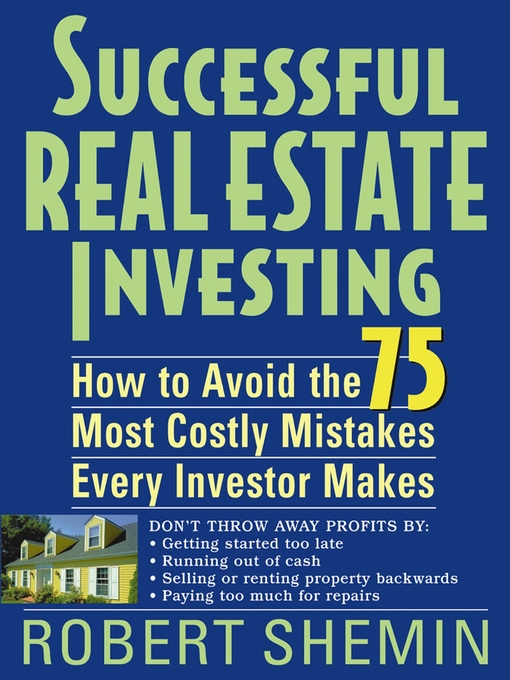 Title details for Successful Real Estate Investing by Robert Shemin - Available