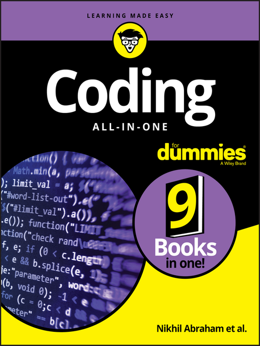 Cover image for Coding All-in-One For Dummies