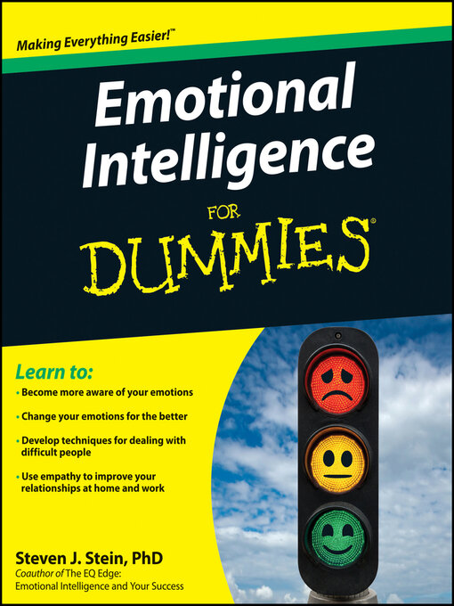 Emotional intelligence for dummies national library board title details for emotional intelligence for dummies by steven j stein available fandeluxe Choice Image