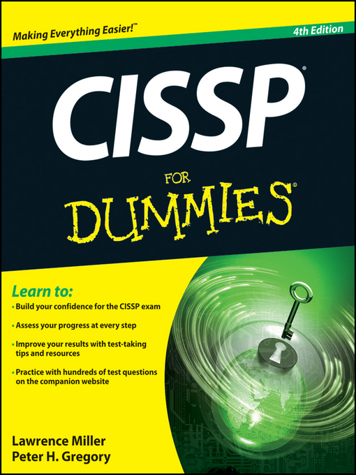 Title details for CISSP For Dummies by Miller - Available
