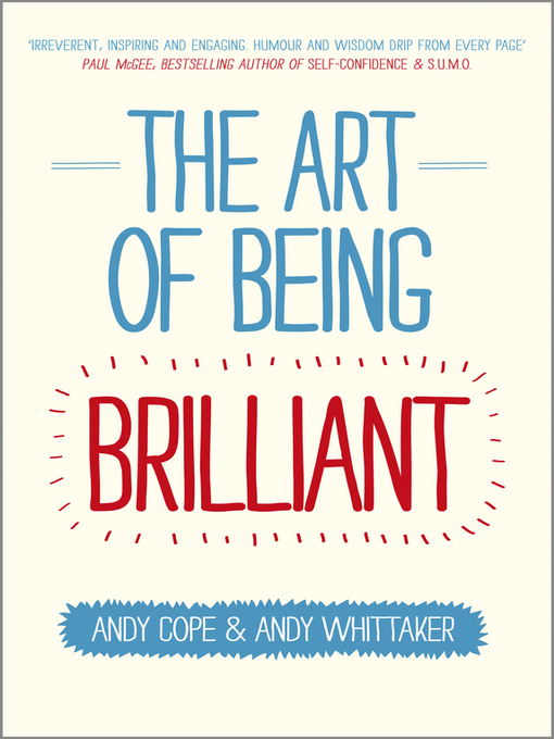Cover of The Art of Being Brilliant