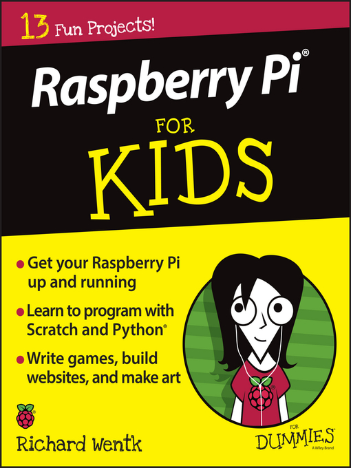 Cover of Raspberry Pi for Kids for Dummies