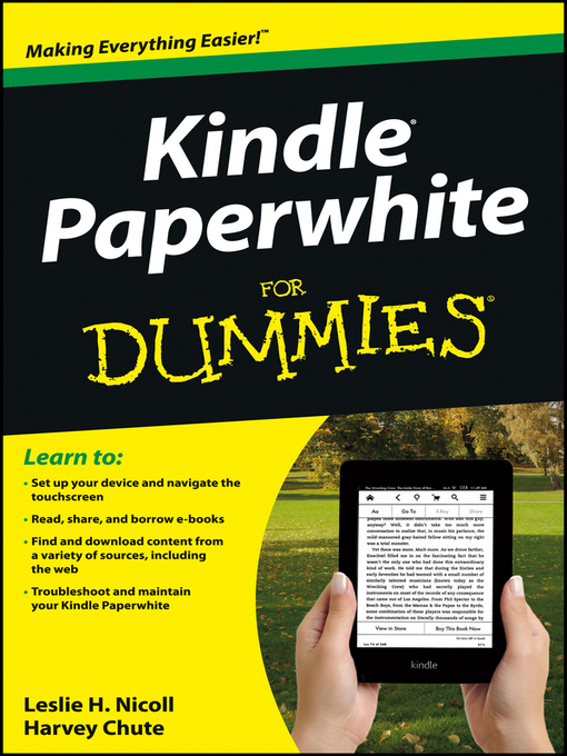 Kindle Paperwhite For Dummies - New York Public Library - OverDrive