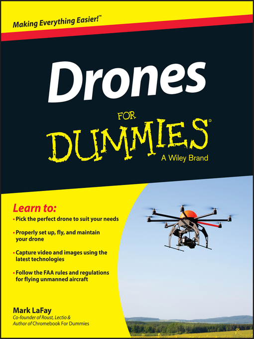 Title details for Drones For Dummies by Mark LaFay - Available