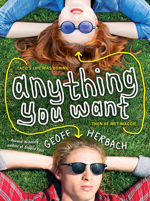 Title details for Anything You Want by Geoff Herbach - Wait list
