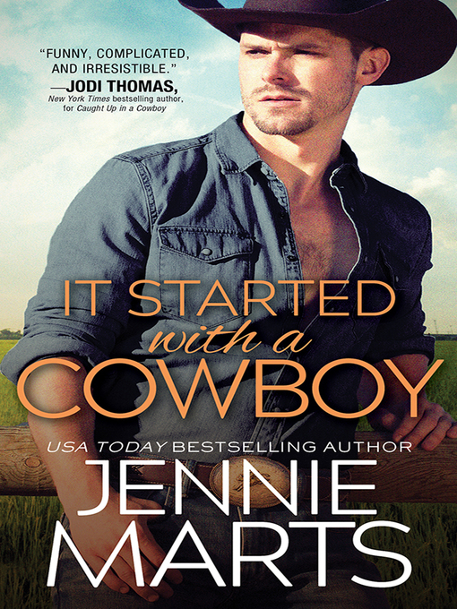 Title details for It Started with a Cowboy by Jennie Marts - Wait list