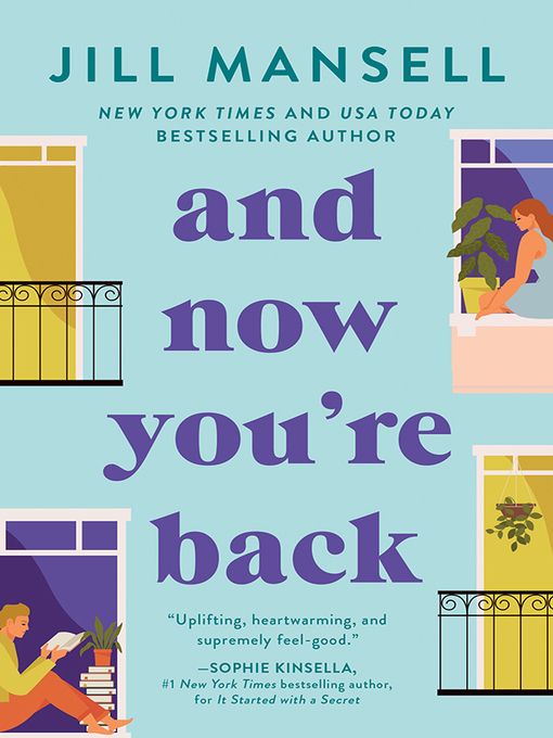 Title details for And Now You're Back by Jill Mansell - Wait list