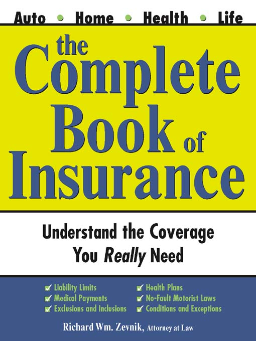 Cover of Complete Book of Insurance