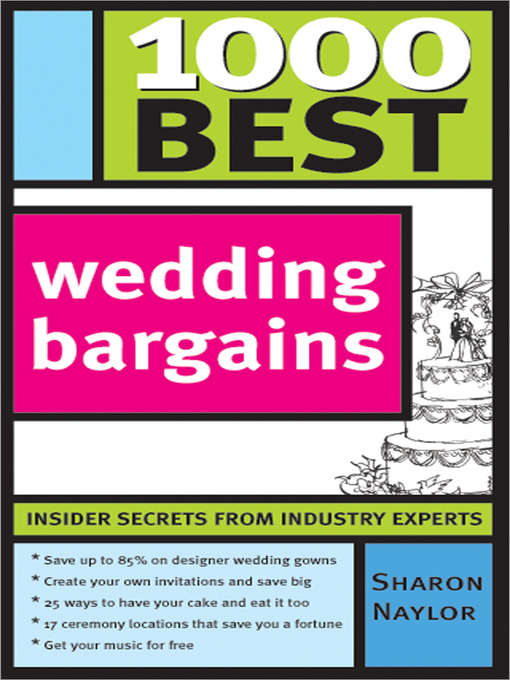 Title details for 1000 Best Wedding Bargains by Sharon Naylor - Wait list