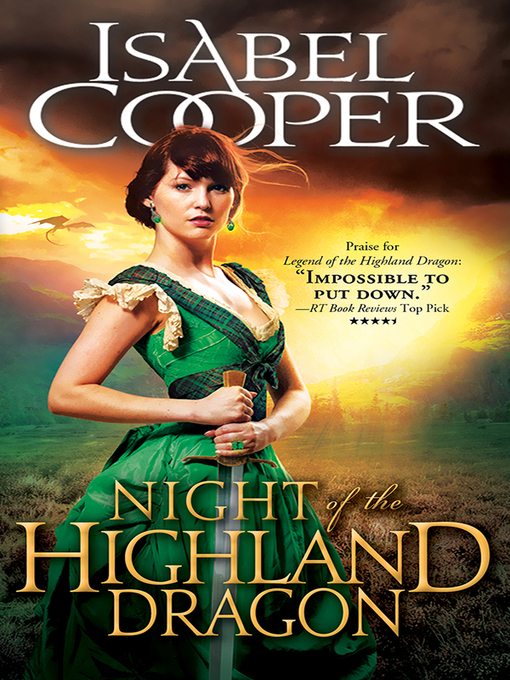 Title details for Night of the Highland Dragon by Isabel Cooper - Available