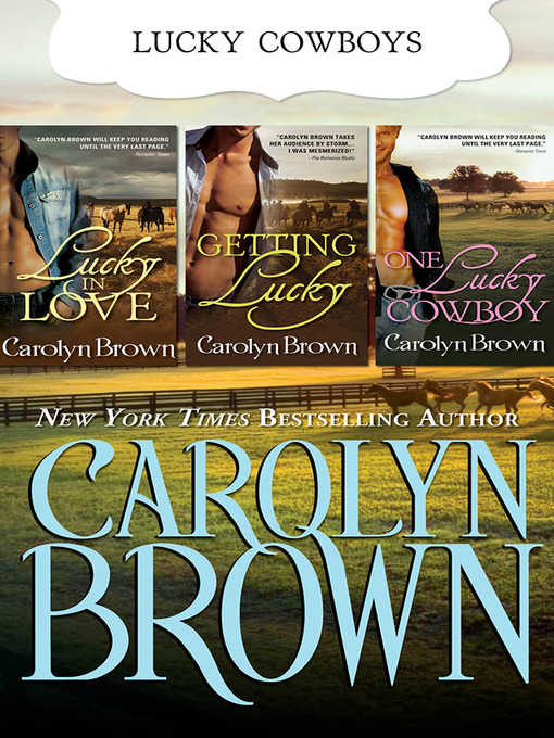 Title details for The Lucky Brothers Trilogy by Carolyn Brown - Wait list