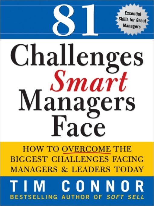 challenges that managers face