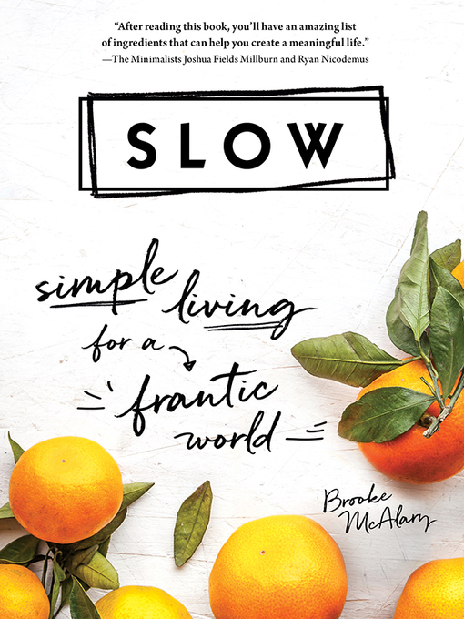 Title details for Slow by Brooke McAlary - Wait list