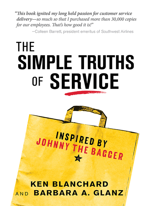 Cover of The Simple Truths of Service