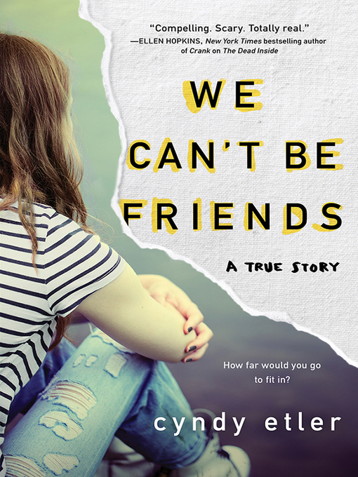 Cover image for book: We Can't Be Friends