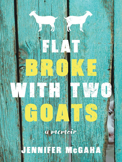 Cover of Flat Broke with Two Goats