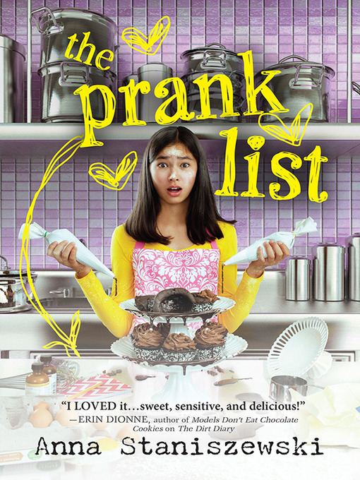 Title details for The Prank List by Anna Staniszewski - Available