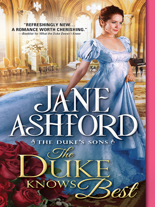 Title details for The Duke Knows Best by Jane Ashford - Wait list