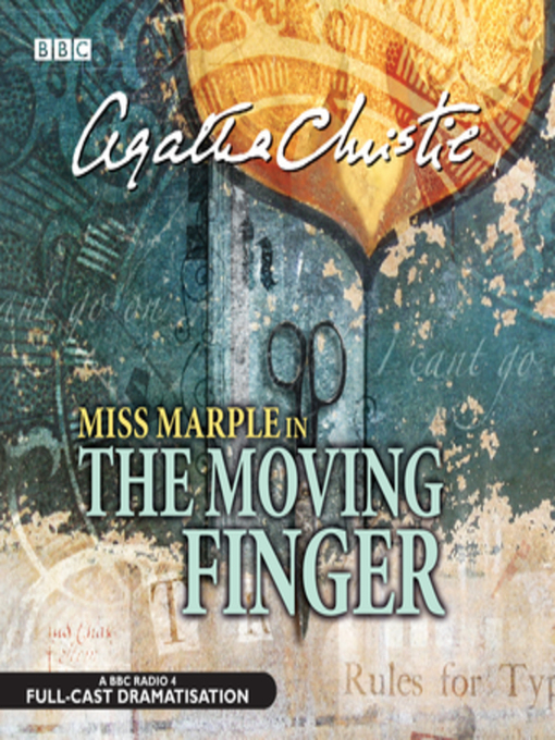 Title details for The Moving Finger by Agatha Christie - Wait list