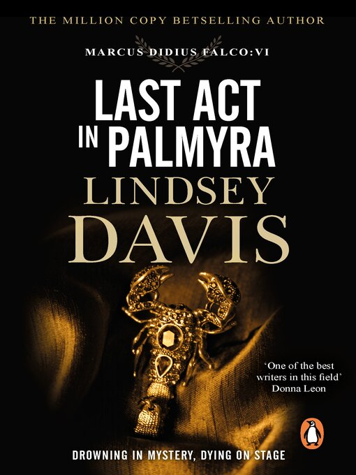 Title details for Last Act in Palmyra by Lindsey Davis - Available