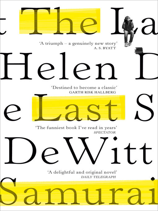 Title details for The Last Samurai by Helen DeWitt - Available