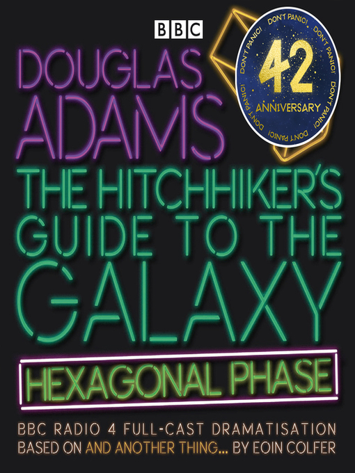 Cover image for The Hitchhiker's Guide to the Galaxy: Hexagonal Phase: And Another Thing...