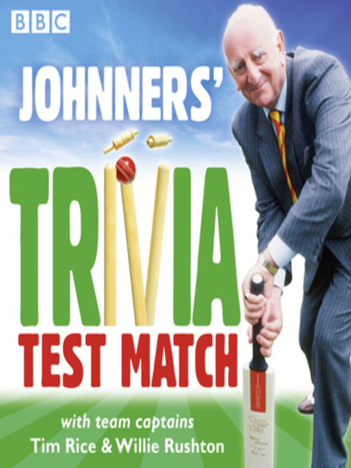 Title details for Johnners' Trivia Test Match by BBC - Available
