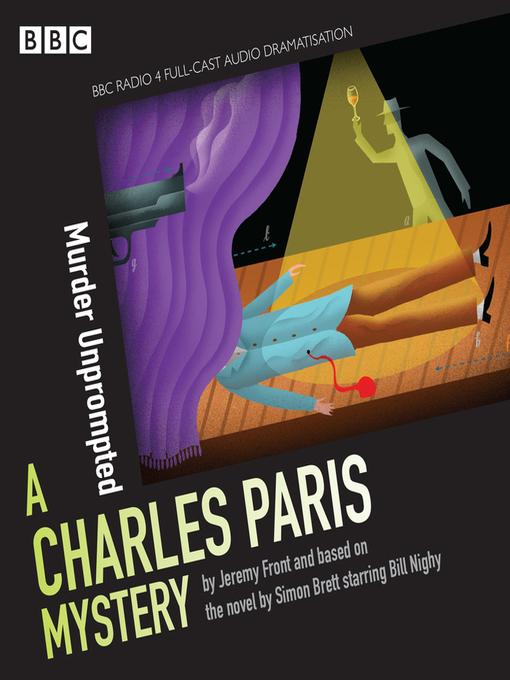 Title details for Charles Paris, Murder Unprompted by Simon Brett - Wait list