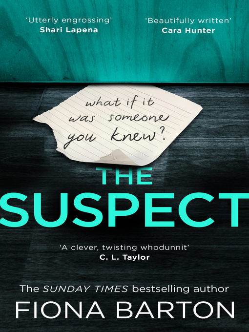 Title details for The Suspect by Fiona Barton - Available