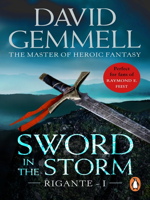 Title details for Sword In the Storm by David Gemmell - Wait list
