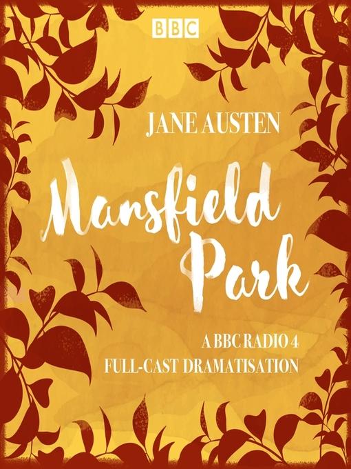 Title details for Mansfield Park by Jane Austen - Wait list