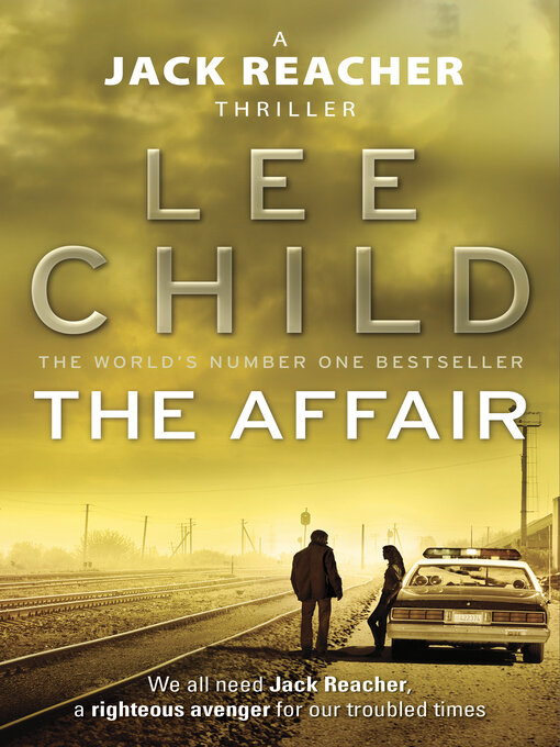 Title details for The Affair by Lee Child - Wait list